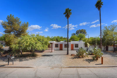 Tucson Single Family Home For Sale: 1526 E Adelaide Drive