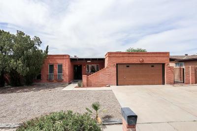 Tucson Single Family Home Active Contingent: 9633 E Baker Street