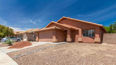 Tucson Single Family Home Active Contingent: 3405 S Sun Splash Drive