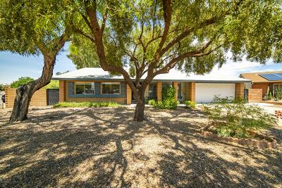 Tucson Single Family Home Active Contingent: 3656 W Gailey Drive