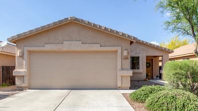 Pima County Single Family Home Active Contingent: 4109 E Coolbrooke Drive