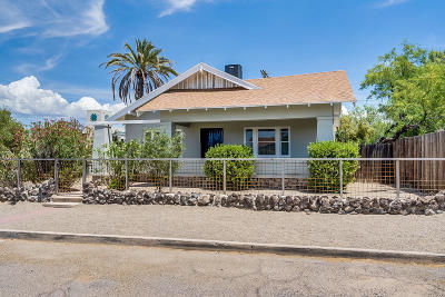 Tucson Single Family Home For Sale: 1056 N Perry Avenue
