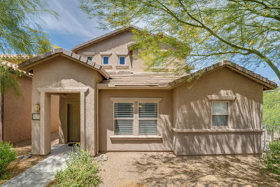 Tucson Single Family Home Active Contingent: 10545 E Native Rose Trail