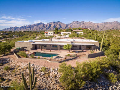 Tucson Single Family Home For Sale: 4160 N Sierra Chapita