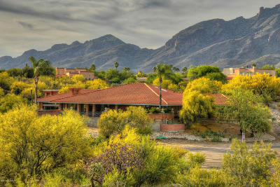 Tucson Single Family Home For Sale: 4905 E Salida Del Sol Place
