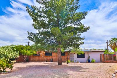 Tucson Single Family Home Active Contingent: 7942 E Malvern Place