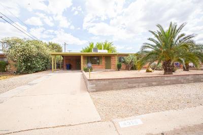 Tucson Single Family Home For Sale: 4356 E Monte Vista Drive