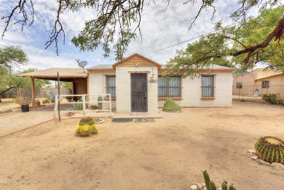 Tucson Single Family Home Active Contingent: 405 E Mohave Road