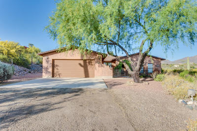 Tucson Single Family Home Active Contingent: 5441 W Placita De La Promesa
