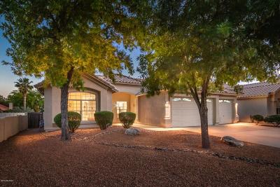 Tucson Single Family Home Active Contingent: 7596 E Placita De La Vina