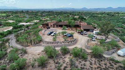 Pima County, Pinal County Single Family Home For Sale: 6061 N Vista Valverde