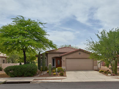 Oro Valley Single Family Home Active Contingent: 12275 N Kylene Canyon Drive