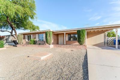 Tucson Single Family Home For Sale: 7542 E Fayette Street