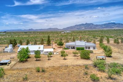 Willcox Single Family Home For Sale: 5899 E Helens Drive