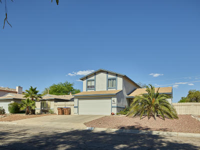Tucson Single Family Home For Sale: 5870 N Belbrook Drive