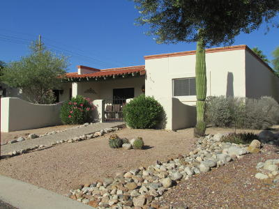 Tucson Townhouse For Sale: 6374 N Orange Tree Drive