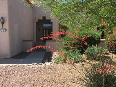 Oro Valley Townhouse For Sale: 1393 W Cactus Bloom Way