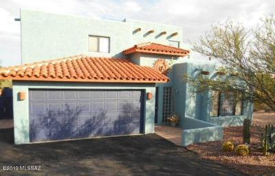 Tucson Single Family Home Active Contingent: 4263 N Paseo Del Campo