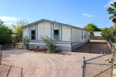 Pima County Manufactured Home For Sale: 2631 W Mossman Road
