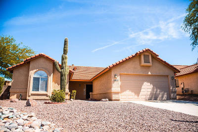 Tucson Single Family Home For Sale: 9875 N Stone Creek Place
