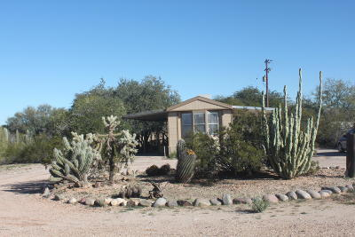Pima County Manufactured Home For Sale: 10740 N Longview Avenue
