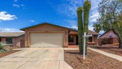 Tucson Single Family Home For Sale: 10015 E Mary Drive