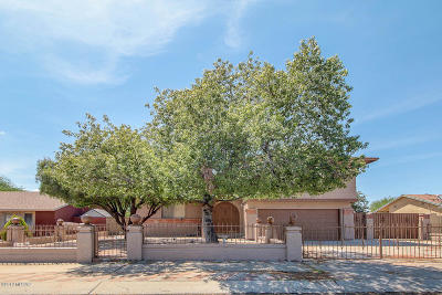 Tucson Single Family Home Active Contingent: 7600 S Camino Escarpado