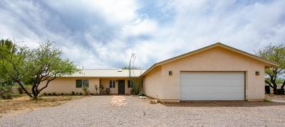 Cochise County Single Family Home For Sale: 8245 E Bloomfield Road