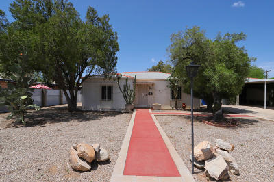 Tucson Single Family Home For Sale: 2833 N Forgeus Avenue