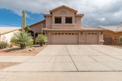 Tucson Single Family Home Active Contingent: 10587 E Bridgeport Street