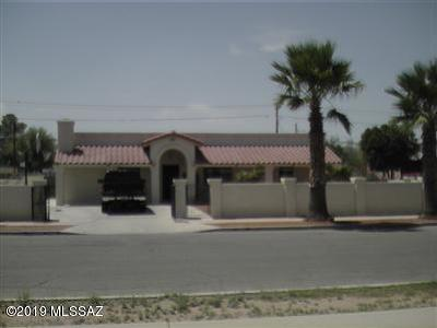 Tucson AZ Single Family Home For Sale: $189,900