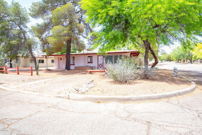 Tucson Single Family Home Active Contingent: 2865 N Desert Avenue