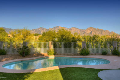 Oro Valley Single Family Home Active Contingent: 11284 N Cactus Rose Drive
