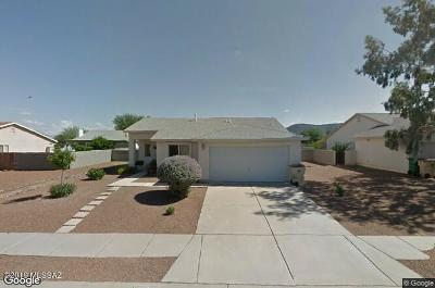 Tucson AZ Single Family Home Active Contingent: $165,000