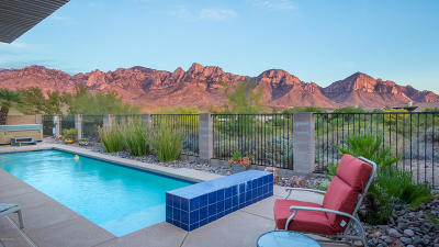 Oro Valley Single Family Home Active Contingent: 1724 E Ganymede Drive
