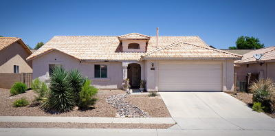 Tucson Single Family Home For Sale: 8135 E Smooth Sumac Lane