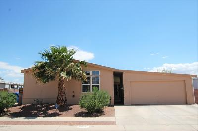Pima County Manufactured Home Active Contingent: 6076 E Window Ridge Lane