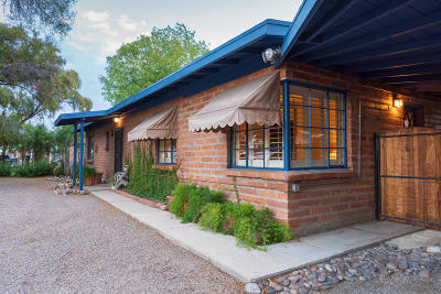 Tucson Single Family Home For Sale: 3326 N El Burrito Avenue