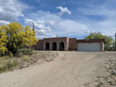 Tucson Single Family Home Active Contingent: 10702 E Avenida Del Campo