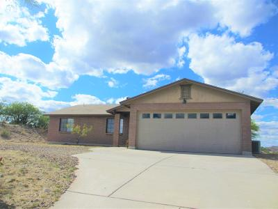 Rio Rico Single Family Home Active Contingent: 1084 Paseo Guebabi
