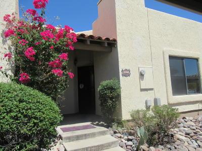 Tucson Townhouse For Sale: 2504 N Ironwood Ridge Drive