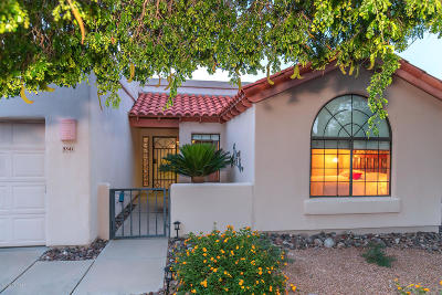 Pima County Single Family Home For Sale: 3341 W Quail Haven Circle