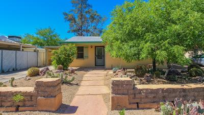 Tucson Single Family Home For Sale: 4150 E Linden Street