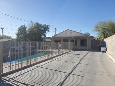 Tucson Single Family Home For Sale: 419 E President Street