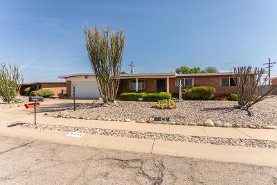 Tucson Single Family Home Active Contingent: 8839 E McClellan Street