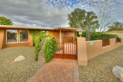 Pima County Single Family Home For Sale: 6949 E Mesa Grande Drive