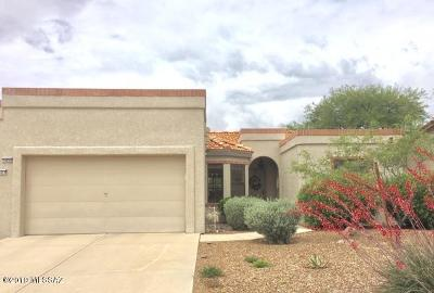 Pima County Townhouse Active Contingent: 14459 N Spanish Garden Lane