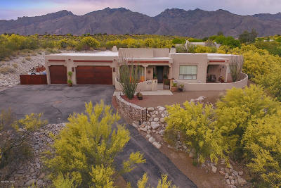 Tucson Single Family Home Active Contingent: 4941 N Fort Verde Trail