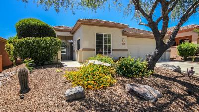 Marana Single Family Home Active Contingent: 13381 N Heritage Club Place