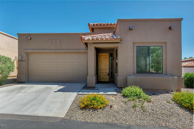 Pima County Single Family Home For Sale: 7348 Sabino Terrace Place